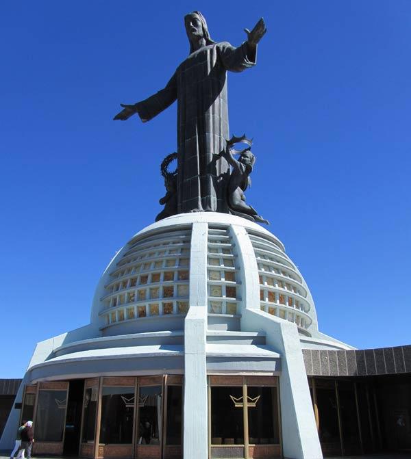 Cristo Rey Statue in Guanajuato