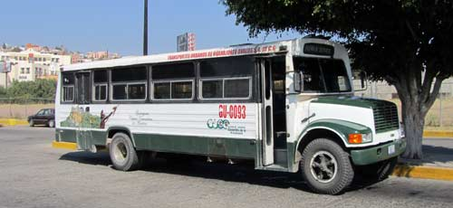 Guanajuato local bus services