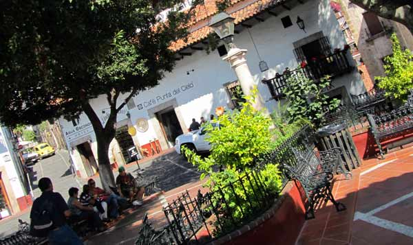 Plaza Borda, Zocalo in Taxco