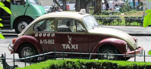 mexico city beetle taxi